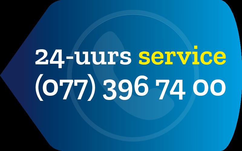 24 uurs service bij Schade Service Blerick telefoonnummer
