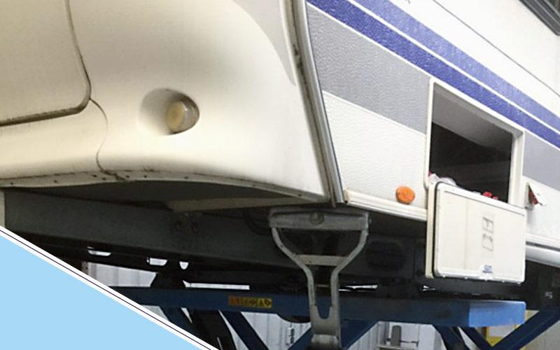 Caravan en camper herstel door Schade Service Blerick