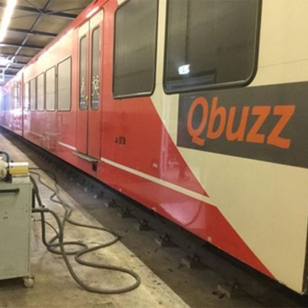 Schade Service Blerick Treinstellen herstellen Qbuzz