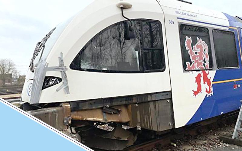 treinschade herstel door Schade Service Blerick